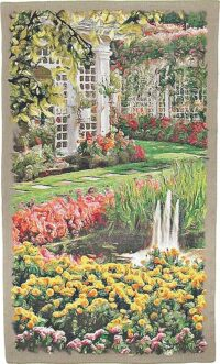 The Garden - vertical tapestry of Butchart Gardens