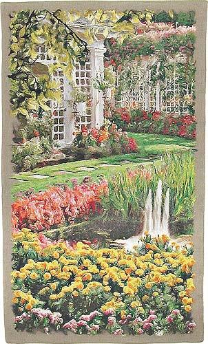 The Garden - vertical tapestry of Butchart Gardens