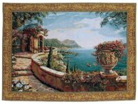 Capri wall tapestry - Robert Pejman art tapestries