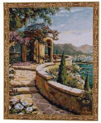 Capri tapestry - small Robert Pejman wall tapestries