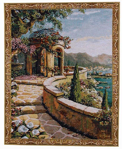 Capri tapestry - small Robert Pejman wall tapestries