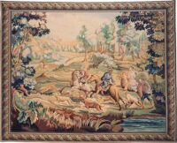 The Hunt tapestry - hunting wall hanging