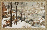 Hunting in the Snow tapestry - Pieter Brueghel the Elder