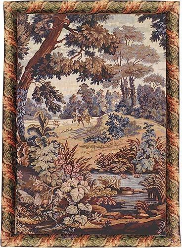 The Horsemen Depart - hunting tapestry