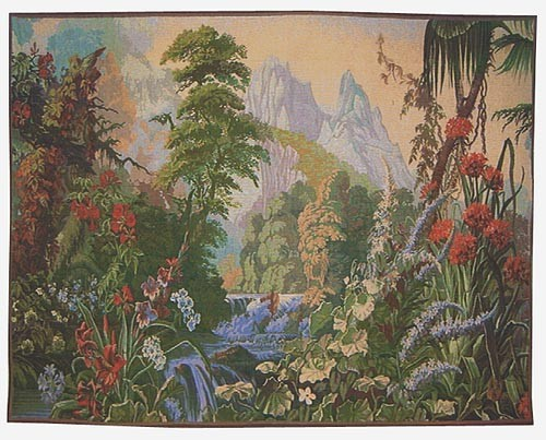 The Garden of Delight tapestry - French wallhanging