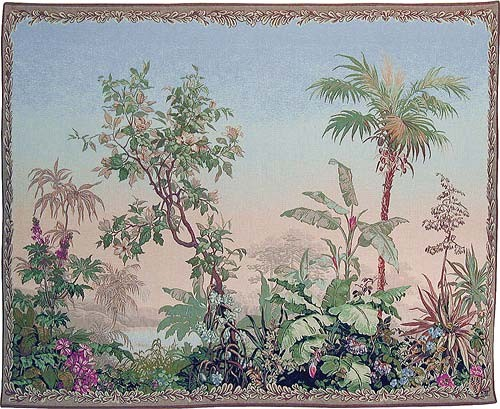 Exotic Landscape tapestry - French wall tapestry