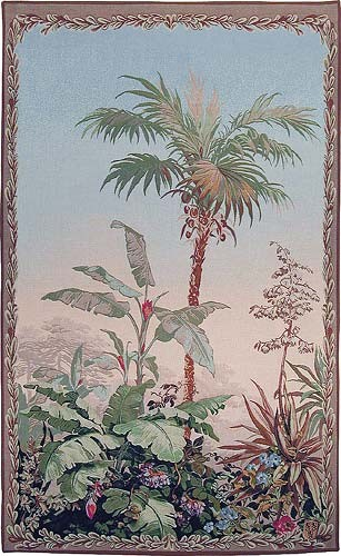 Palm tapestry wallhanging - Paysages Exotique