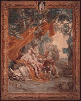 Diana tapestry - classical wall tapestries