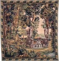 Villa Garden tapestry - verdure Gobelins tapestries