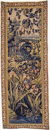 Iris tapestry - Wawel wall tapestries