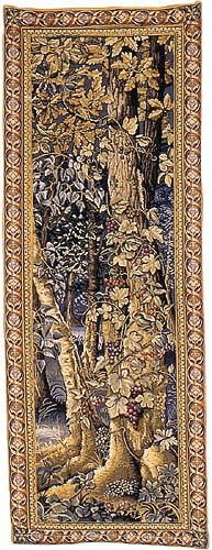 Underwood tapestry - Jagiellonian tapestries, Wawel castle