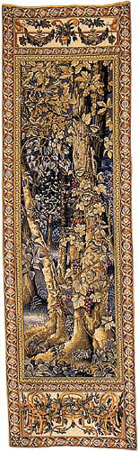 Timberland tapestry - Wawel tapestries