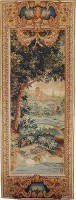 Verdure Cascade left tapestry - pair of tapestries