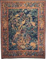 Feuilles d'Aristoloches tapestry - Oudenaarde Flanders