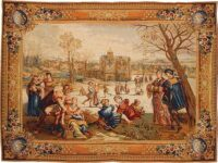 Skaters tapestry - Mois de Lucas tapestries