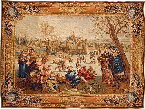 Skaters tapestry - Mois de Lucas tapestries