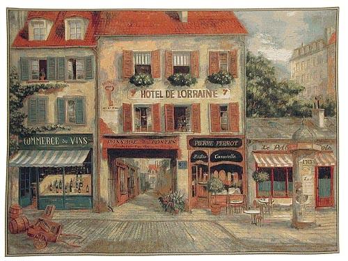 Hotel de Lorraine tapestry - Fabrice de Villeneuve