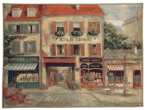 Hotel de Lorraine tapestry - Fabrice de Villeneuve art