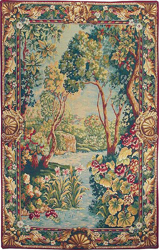 The Garden of Eden - French tapestry wall hanging