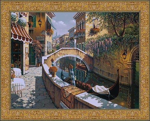 Passage to San Marco - Robert Pejman art wall tapestries