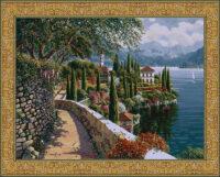 Varenna Vista tapestry - Bob Pejman art tapestries