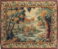 Forest of Marly tapestry - wall-hanging woven in France