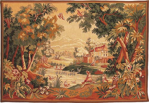 Lauragais Countryside - Paysage Lauragais French tapestry