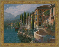 Morning Reflections tapestry - Bob Pejman tapestries