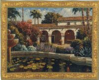 Mission Reflections tapestry - Bob Pejman Belgian tapestries
