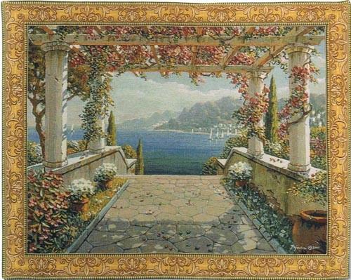 Amalfi Arbor tapestry - Bob Pejman tapestries