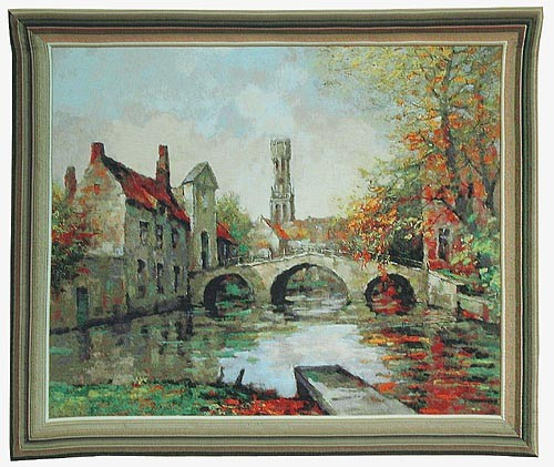 Lake of Love tapestry - Bruges tapestries