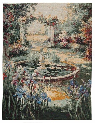 The Fountain tapestry - Italianate garden