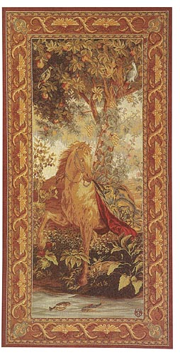 The Draped Horse - Tentures des Indes wall tapestries