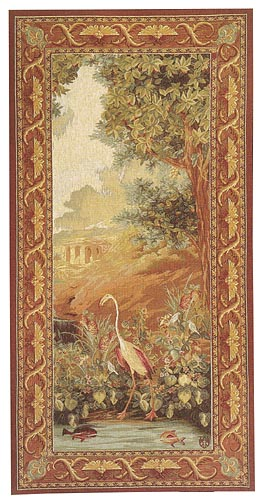 Flamingo tapestry - Tentures des Indes wall tapestries