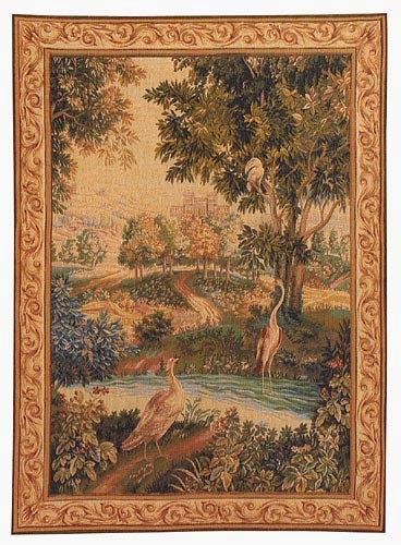 Verdure with Birds - French wall tapestry