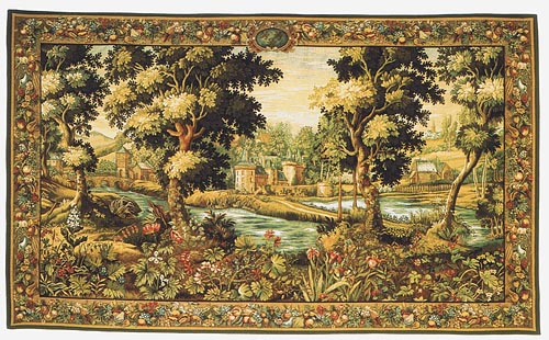 Verdure Chantilly tapestry - Beauvais tapestries