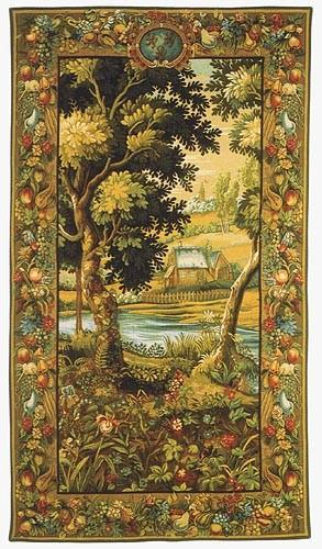 Verdure Meudon tapestry - Beauvais wall tapestries