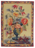 Flowers in a Blue Vase tapestry - sale tapestries