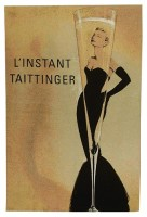 Taittinger wall tapestry - discontinued wall tapestry on sale