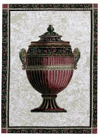 Empire Urn tapestry - discontinued wall tapestry on sale