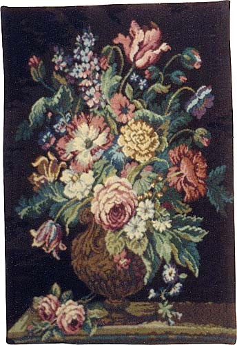 Flowers and Vase tapestry - wall tapestries sale