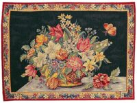 Panier of Flowers tapestry - sale wall tapestries