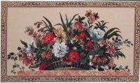 Floral Basket tapestry - sale tapestries