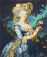 Marie Antoinette tapestry - woven in France