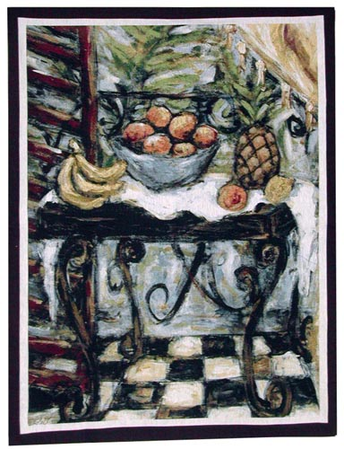 Table of Fruit tapestry - discontinued tapestries sale