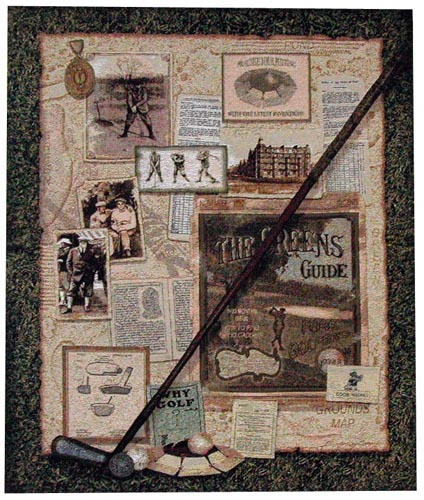 Golf wall tapestry - USA tapestry
