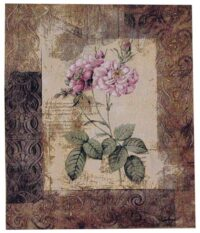 Wild Roses tapestry - discounted on sale