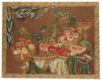 Still Life - mustard colour tapestry on sale