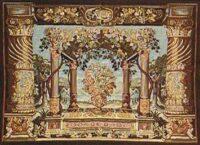 Terrace tapestry - dark tapestry on sale