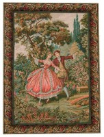 Danza tapestry - Italian wall tapestries